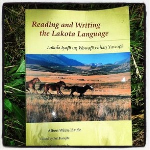 Albert White Hat's Reading and Writing the Lakota Language book