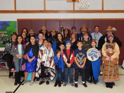 Members of MSD curriculum committee Chelsea Craig (back-row