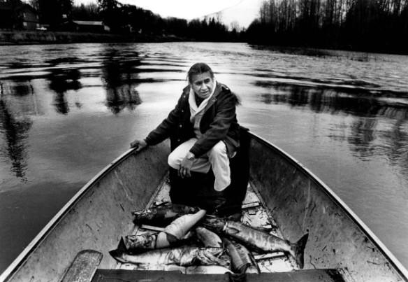 Billy Frank Jr. (Photo by Ann Yow / The Seattle Times, 1983)