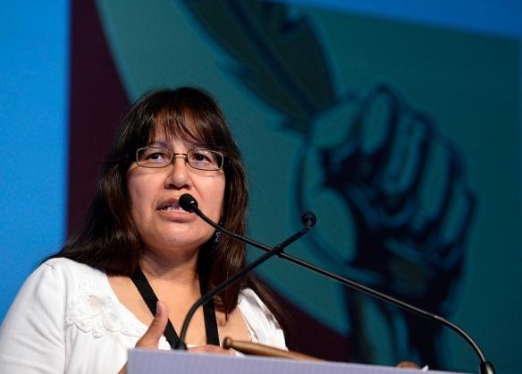 Sylvia McAdam, one of the four original founders of Idle No More
