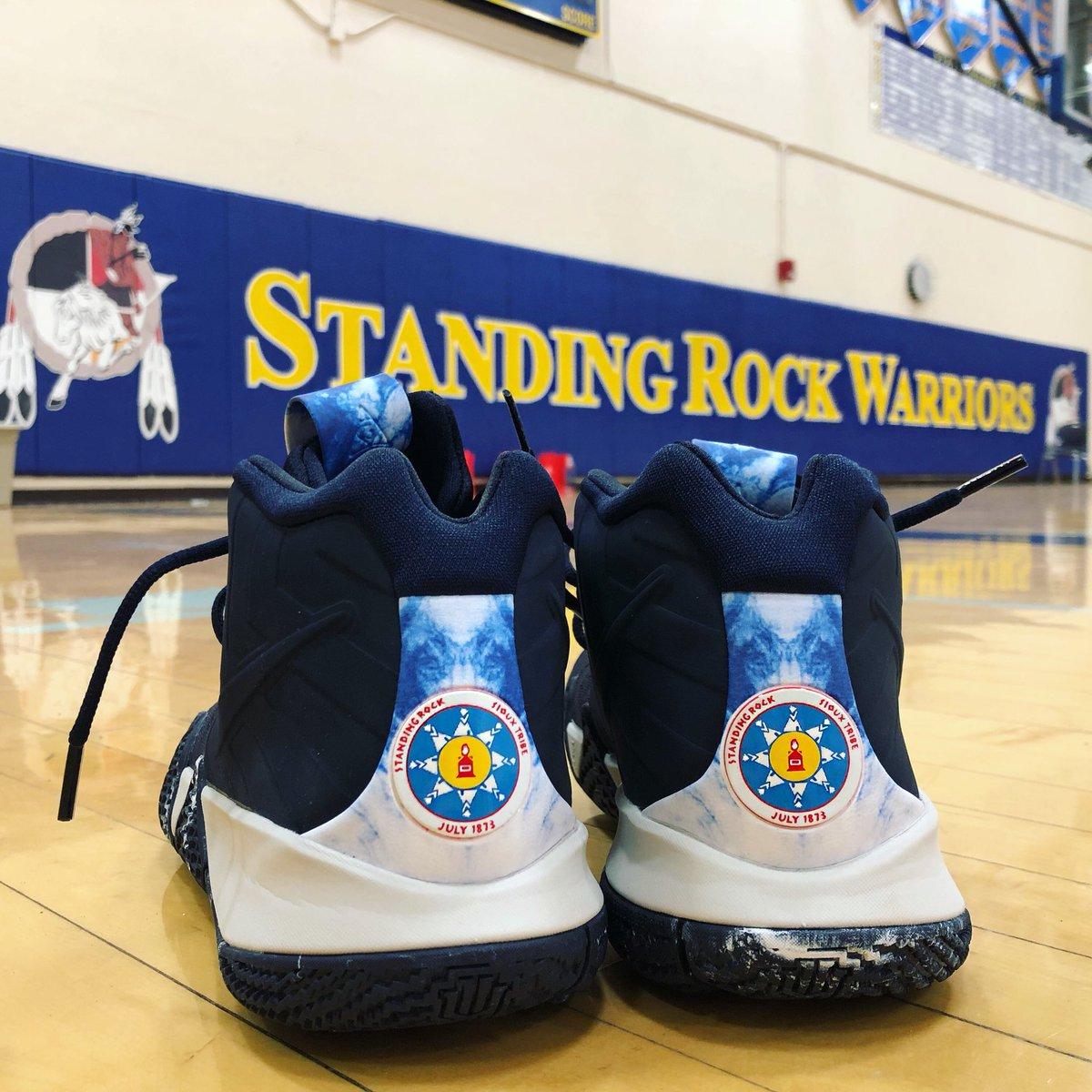 1ad550927529 Standing Rock Sioux Tribe to Host Homecoming for NBA Star Kyrie ...