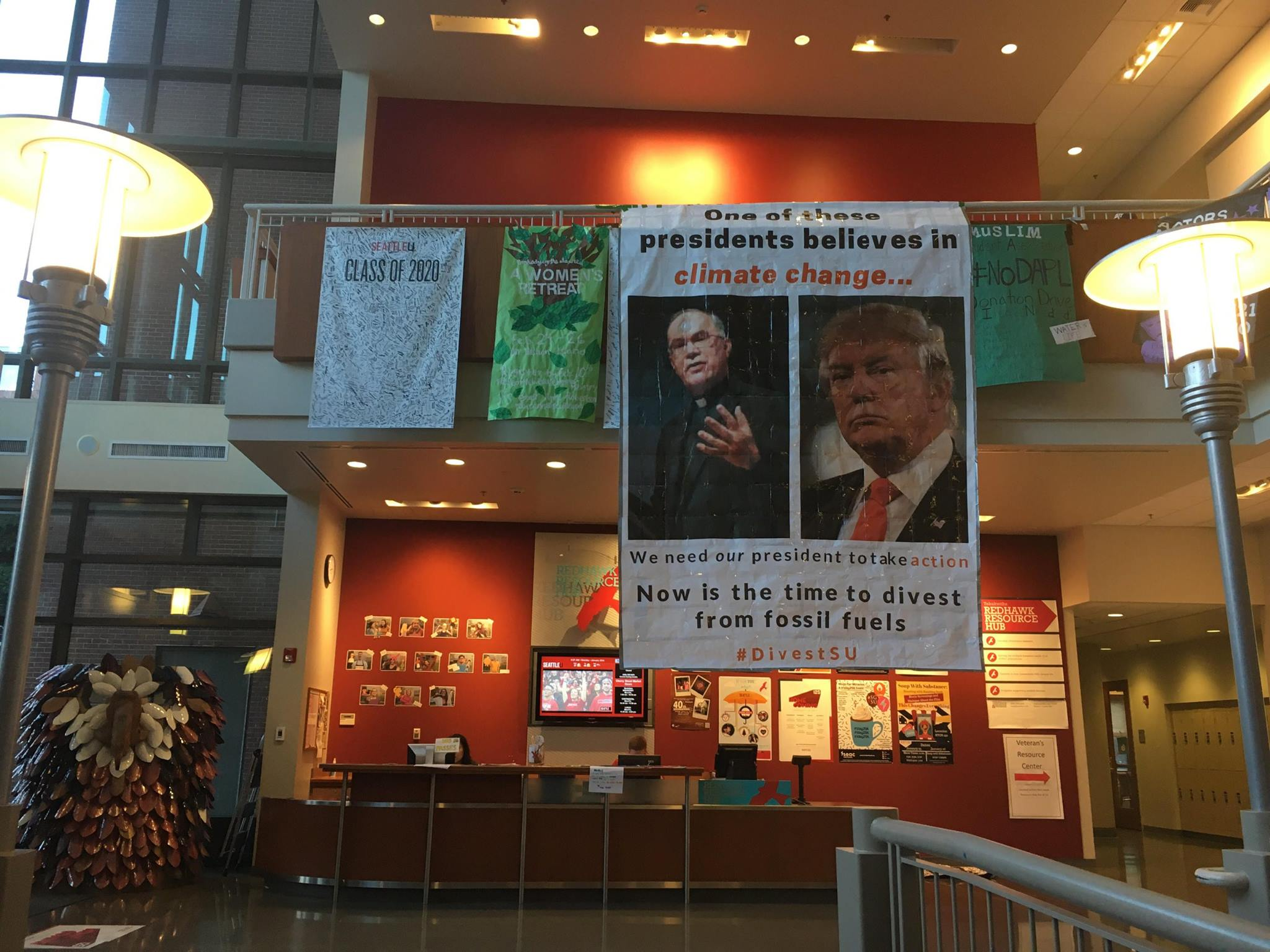 Divestment Activists Push Seattle University To Divest From Fossil Fuels Lrinspire